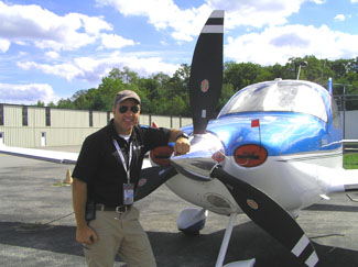 Chief Pilot Nick Gregory of Performance Flight - Photo by Luxury Experience