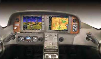 Cirrus SR22 Cockpick Display