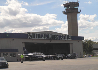 Million Air Hangar - Westchester County Airport - Photo by Luxury Experience