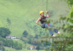 Photo Credit Rodolfo Bazzetto - Rappelling in Brazil Debra C. Argen