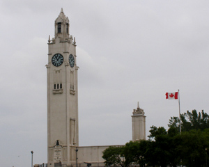 1922 Montreal Clock Tower - Saute Moutons Lachine Rapids Jet Boat Tours, Montreal, Canada - Photo By Luxury Experience