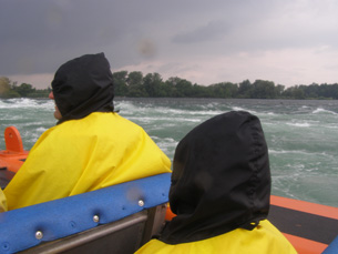 Approachign the Rapids - Saute Moutons Lachine Rapids Jet Boat Tours, Montreal, Canada - Photo By Luxury Experience