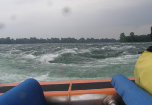 Jumping the Rapids - Saute Moutons Lachine Rapids Jet Boat Tours, Montreal, Canada - Photo By Luxury Experience