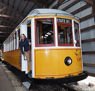 Debra C. Argen - Seashore Trolley Museum, Kennebunkport, Maine - photo by Luxury Experience