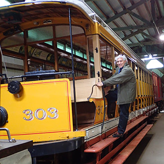 Edward F.Nesta - Seashore Trolley Museum, Kennebunkport, Maine - photo by Luxury Experience