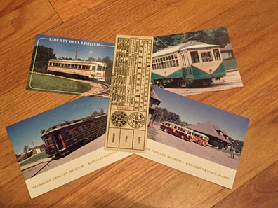 Historic Trolley ticket - Seashore Trolley Museum, Kennebunkport, Maine - photo by Luxury Experience
