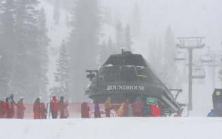 Roundhouse Chair Lift - Alpine Meadows - Tahoe City, California - Photo by Luxury Experience