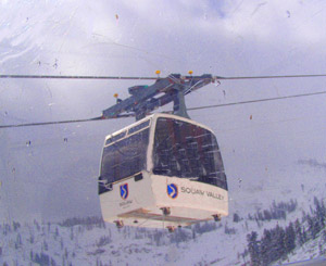 Gondola at Squaw Valley - Photo by Luxury Experience