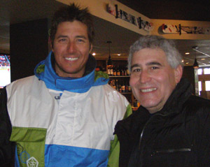 Jonny Moseley and Edward Nesta at Squaw Valley - Photo by Luxury Experiene