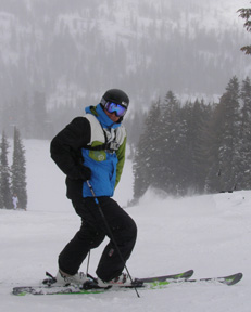 Jonny Moseley read to ski at Squaw Valley - Photo by Luxury Experiene