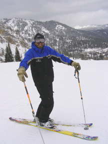 Danny Sullivan at Squaw Valley - Photo by Luxury Experiene