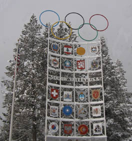 Olympic Circles at Squaw Valley - Photo by Luxury Experiene