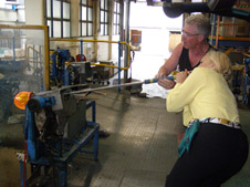 Waterford Crystal - Debra Blowing Glass