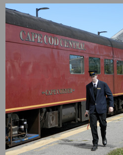 Cape Cod Central Railroad - Hyannis, MA - photo by Luxury Experience