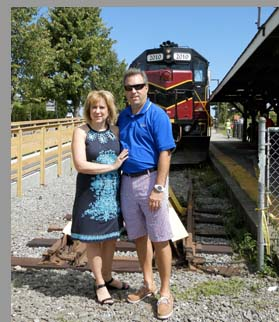 Cape Cod Central Railroad - Joanne and Peter Moskal - Hyannis, MA - photo by Luxury Experience