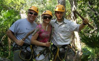 Alltournative Off Track Adventures, Riviera Maya, Mexico - Edward F. Nesta, Debra C. Argen, and Eduardo