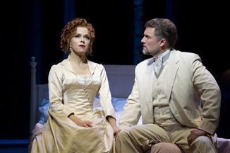 A Little Night Music - Walter Kerr Theatre, New York - Bernadette Peters and Stephen R. Buntrock - Photo by Joan Marcus