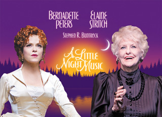 A Little Night Music - Walter Kerr Theatre, New York - Bernadette Peters and Elaine Stritch