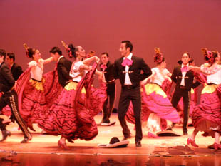 Ballet Folklorico de Mexico - Colorful Dancers - Photo by Luxury Experience