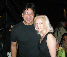 Jimmy Haslip and Debra C. Argen at the Blue Note New York - Photo by Luxury Experience
