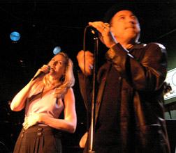 Luba Mason and Ruben Blades performing at the Blue Note New York - Photo by Luxury Experience