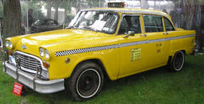 1978 New York City Checker Cab