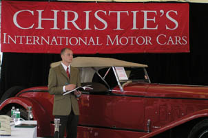 Christies Motor Car Auction