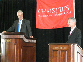 Christie's Exceptional Motor Cars Auction 2007