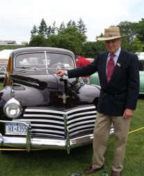 Founder Bruce Wennerstrom - Greenwich Concours d'Elegance 2010 - Photo by Luxury Experience