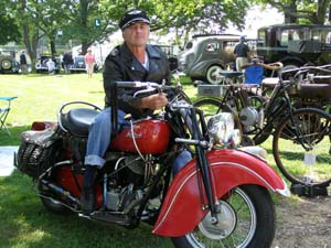 1948 Indian Chief 348 - Roland Houde - Photo by Luxury Experience
