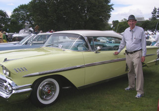 1958 Chevrolet Impala Coupe, Kevin Kingsland - Photo by Luxury Experience
