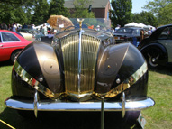 Front - 1947 Rolls-Royce Phantom III - John W. Rich Sr. - photo by Luxury Experience