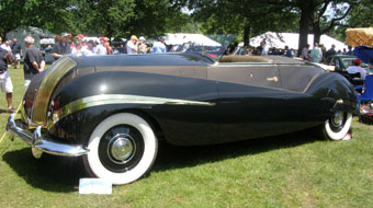1947 Rolls-Royce Phantom III - John W. Rich Sr. - photo by Luxury Experience