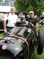Edward F. Nesta and Alexis V. Kirk - 1926 Salmson Grand Prix GSS Roadster