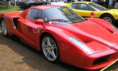 Red Ferrari - Concours d'Elegance Greenwich 2007