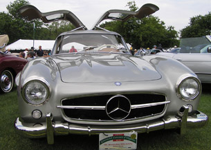 1955 Mercedes-Benz 300SL Gullwing - photo by Luxury Experience