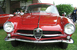 1962 Alfa Romeo Sprint Speciale Coupe - photo by Luxury Experience