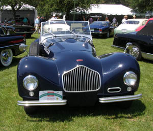 1951 Allard K2 Roadster- photo by Luxury Experience