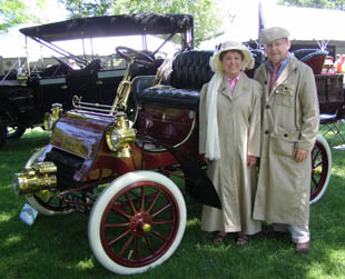 Carl and Anne Pate -  - Photo by Luxury Experience