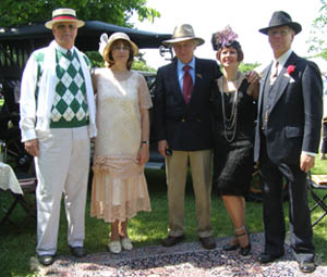 Frank & Pat  Wismer, Bruce Winnerstrom, Gwen & Parker Ackley  - Photo by Luxury Experience