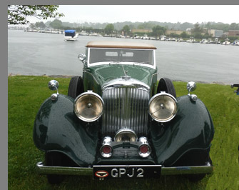 1937  Bentley 41/2 Litre All-Weather Phaeton - photo by Luxury Experience
