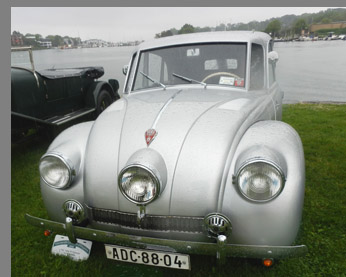 1941 Tatra t87 Diplomat - photo by Luxury Experience