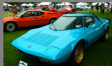 1975 Lancia Stratos - photo by Luxury Experience