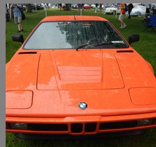 1980 BMW M1 Coupe - photo by Luxury Experience