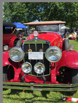 1929 Franklin 153 Sport Touring - photo by Luxury Experience