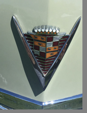1947 Cadillac Series 62 Convertible - Car Emblem - photo by Luxury Experience