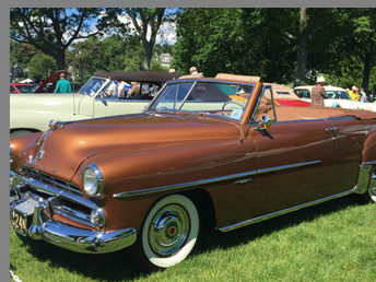 1951 Dodge Coronet Convertible - photo by Luxury Experience