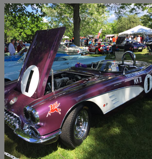 1959 Chevrolet Corvette Convertible - photo by Luxury Experience
