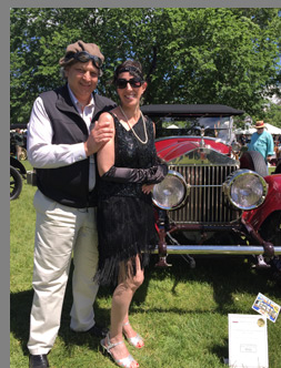 Mark and Carolynne Corigliano - 1921 Rolls-Royce Silver Ghost - photo by Luxury Experience