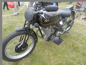 1936 AJS R10 - photo by Luxury Experience